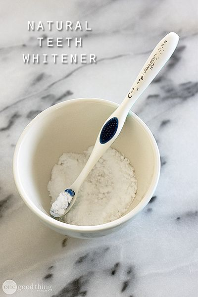 Teeth whitening mixes at home