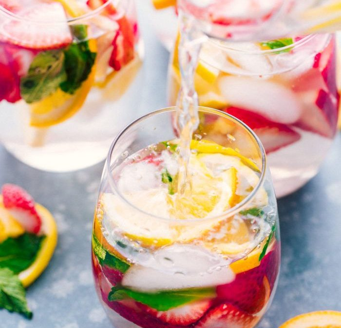 Detox waters to hydrate health