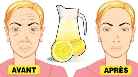 An old lemon trick to remove deep wrinkles from the face