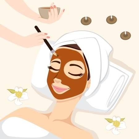 DIY Night Mask For Troubled Skin